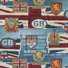Ткань Britannia Flag