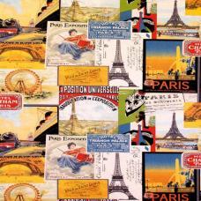 Ткань Skotchgard Travel Paris