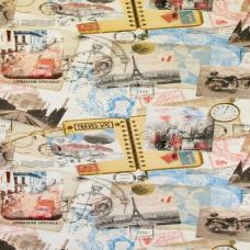 Ткань Skotchgard Travel Vintage