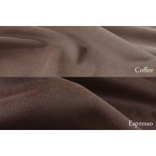 Ткань для обивки мебели велюр Virginia Coffee